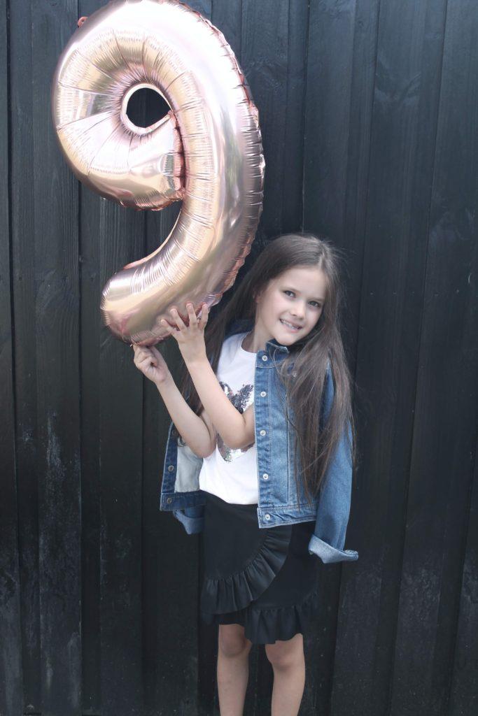 9 års fødselsdag og talkage