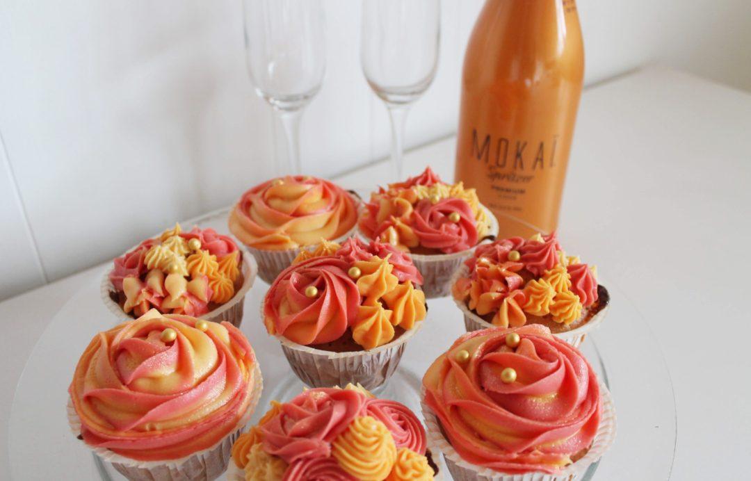 Opskrift på appelsin-Spritzer cupcakes