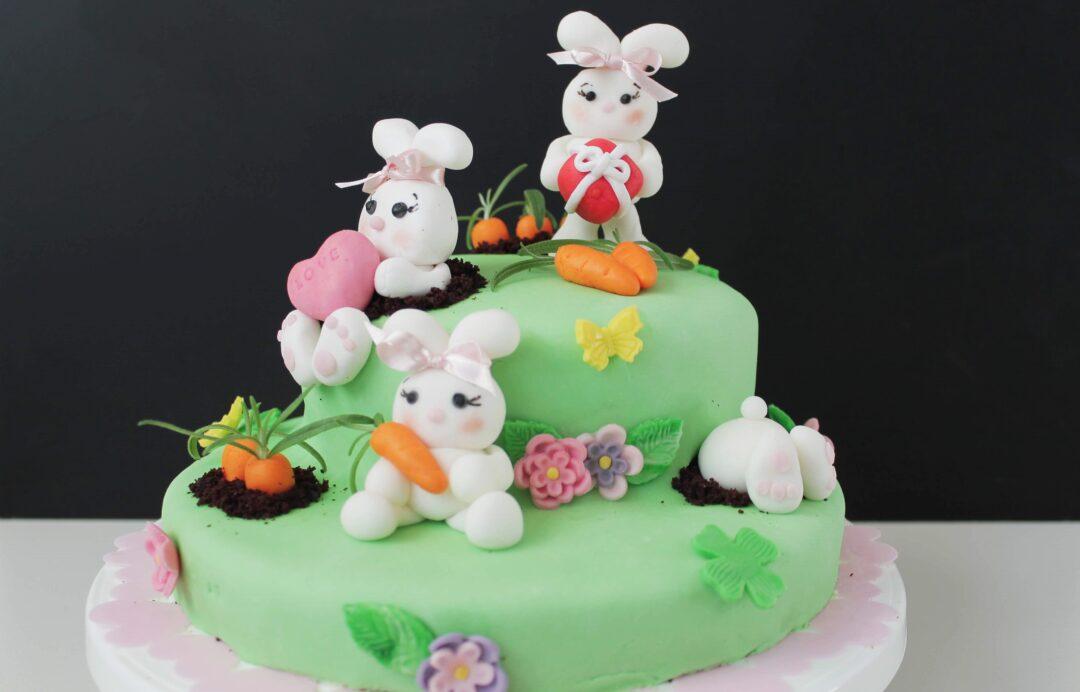 Kaninkage - Caroline 7 år