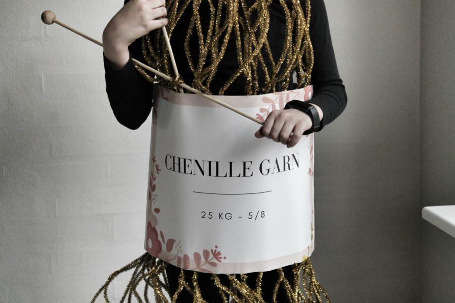 Fastelavn er mit navn, boller vil jeg have... Garnnøgle kostume DIY