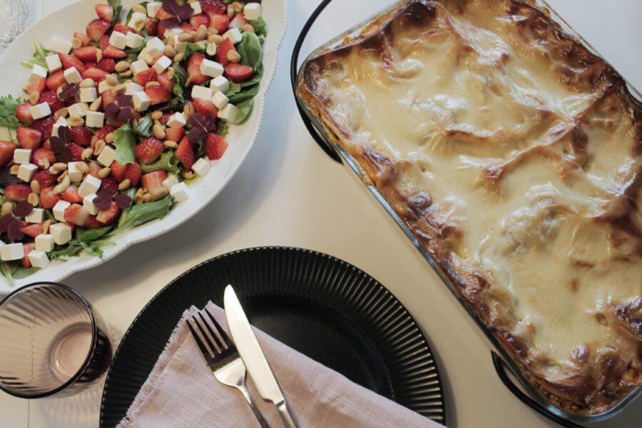 Lasagne og stop af madspild...
