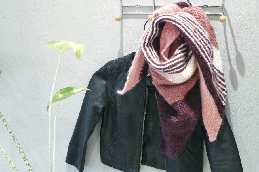 Strikkeprojekt - et tørklæde