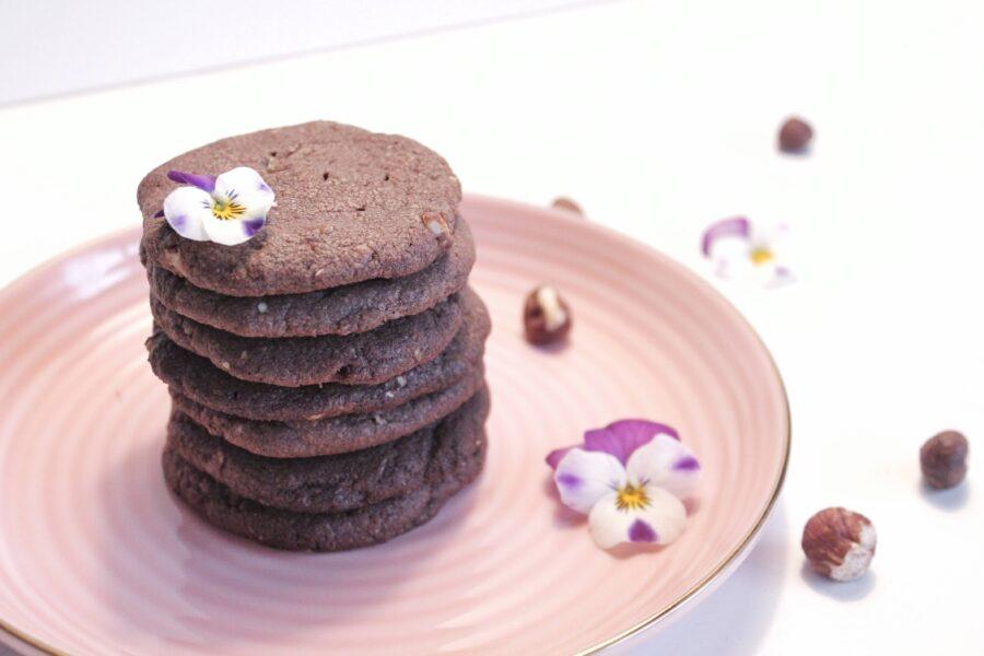 Lækre nougatcookies