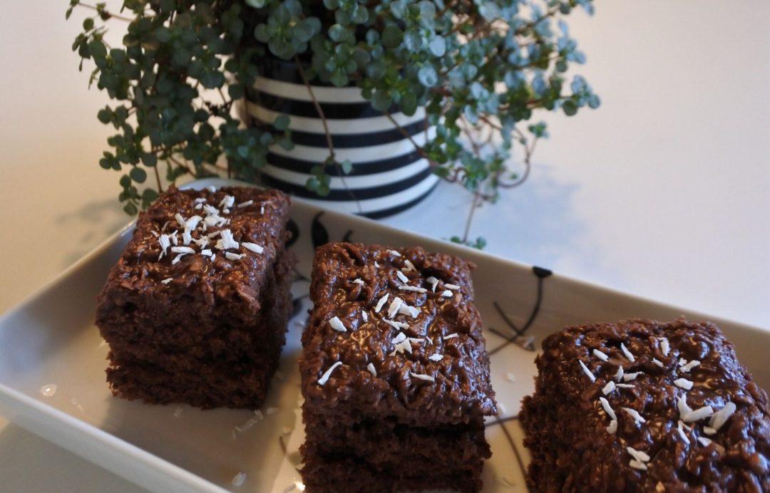Chokoladekage - Den der du ved nok, i en lettere udgave