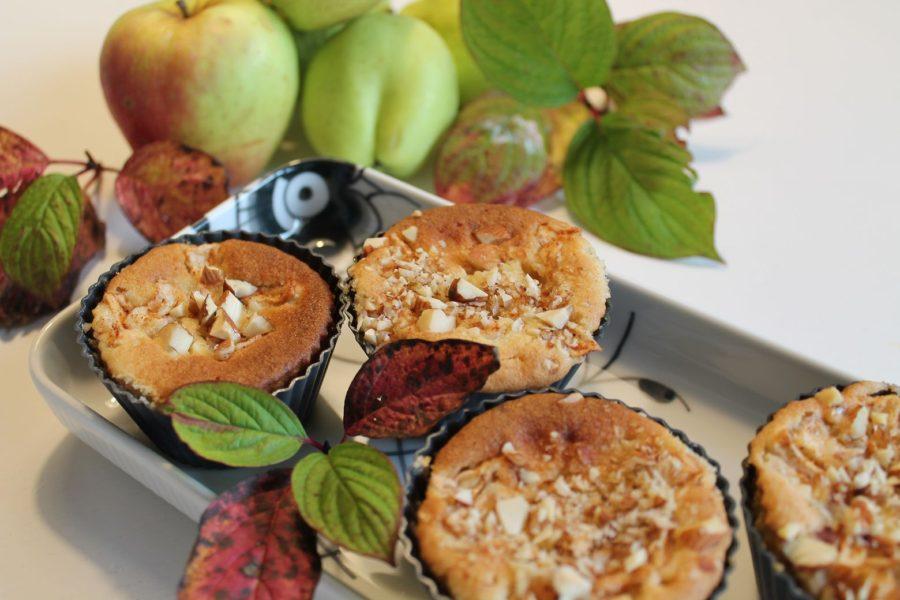 Kager der smager - med æbler... 5 opskrifter - æblemazariner
