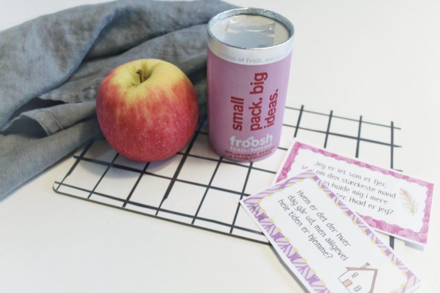 Pølsehorn til madpakken og opgaver for børn
