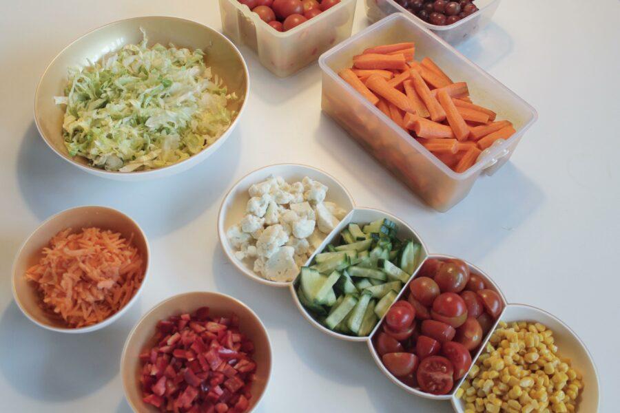 Grøntsager vs kage