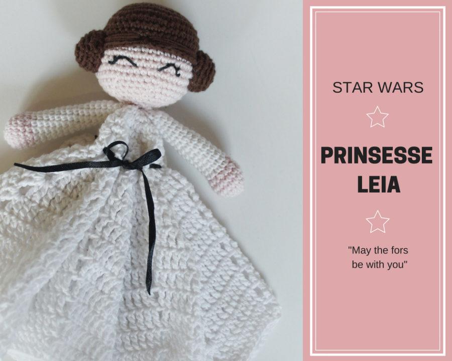 Hæklet Prinsesse Leia