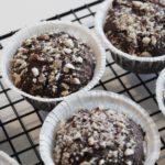 ByWarberg - Rugbrødsmuffins med store chokoladestykker