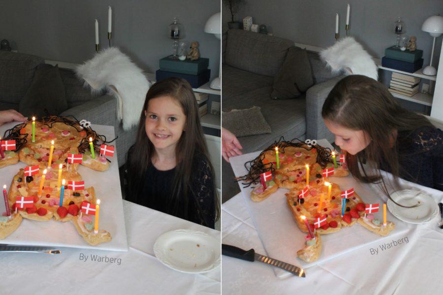 9 års fødselsdag og kagemand