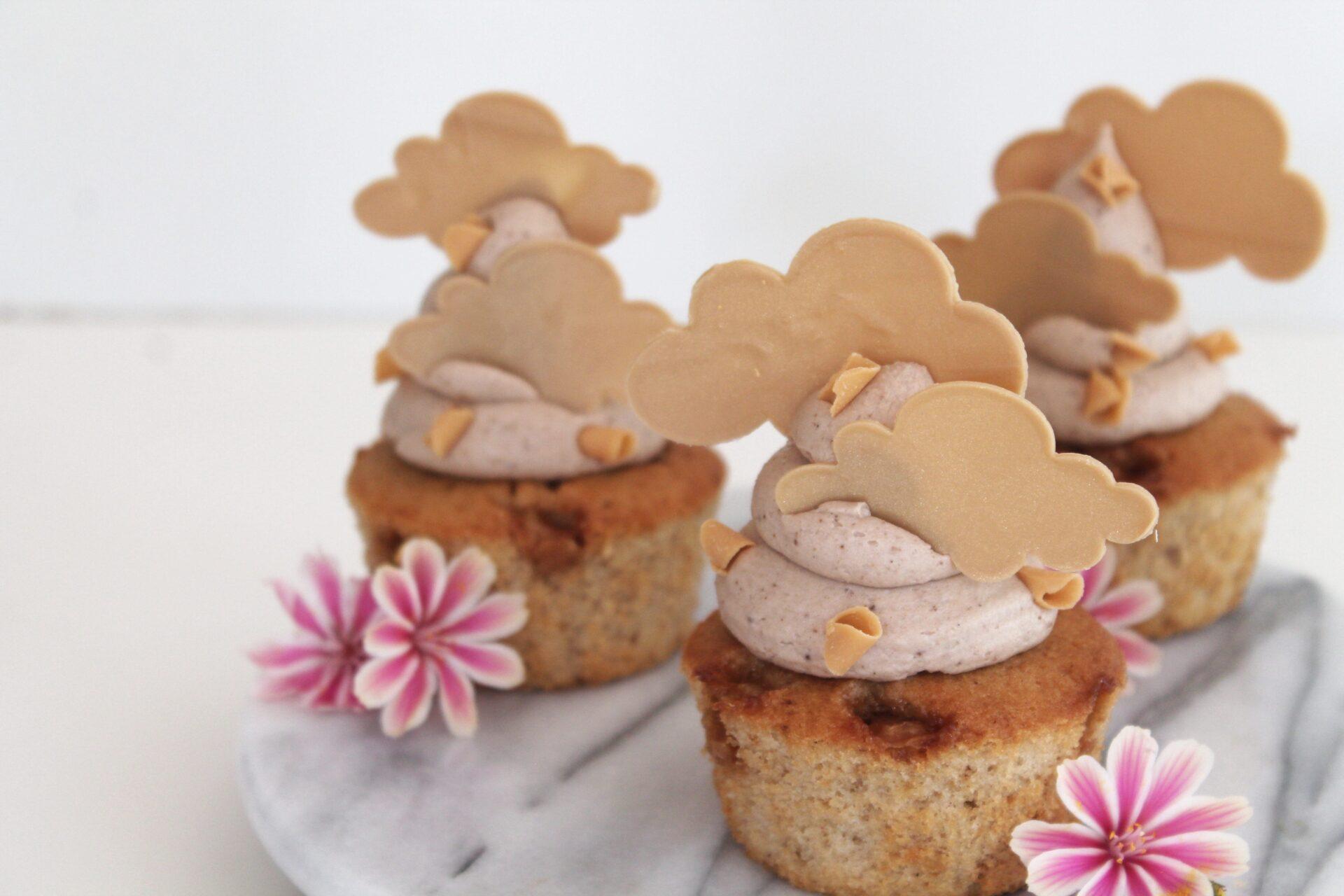 Karameldrømme muffins