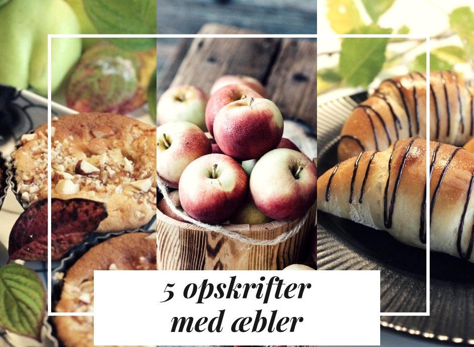 Kager der smager - 5 opskrifter med æbler